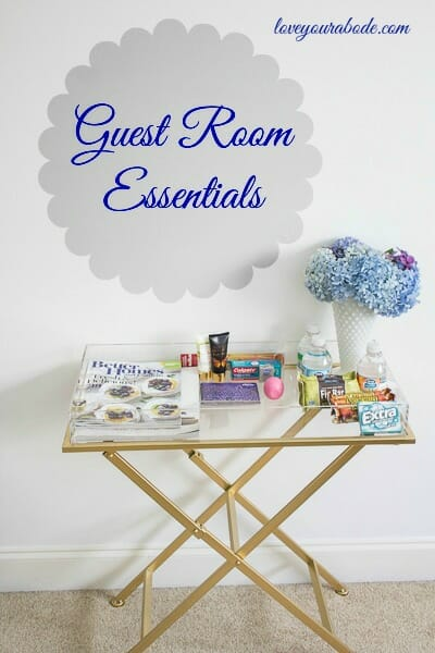Guest Room Essentials to make your guests feel at home