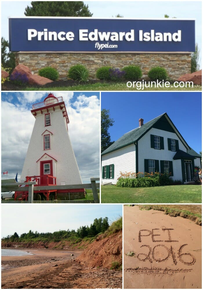 Stunning Prince Edward Island Vacation 2016 at I'm an Organizing Junkie blog