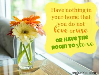 organizing quote