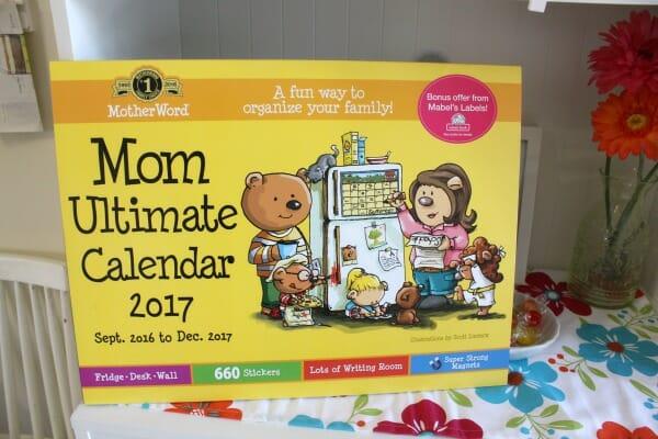 Mom Ultimate Calendar 2017