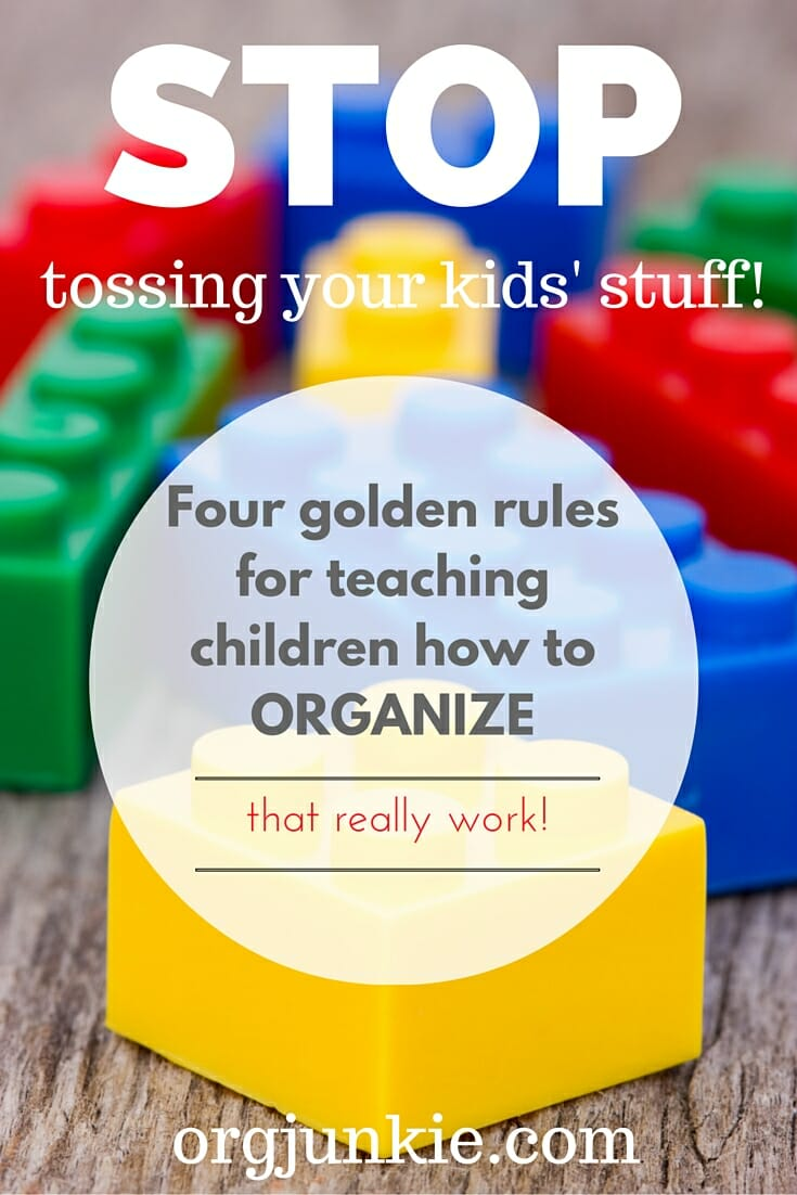 How to Teach Your Kids to Organize