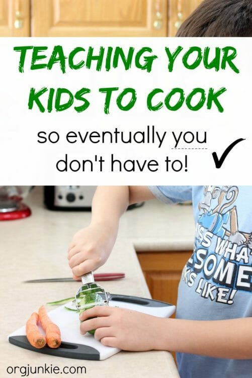 Teaching your kids to cook