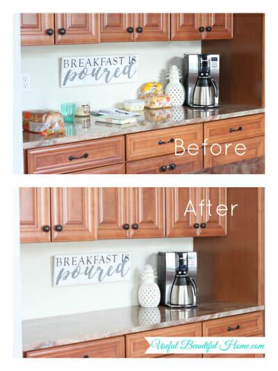 Kitchen Organizing: Bread & Butter Storage Solution