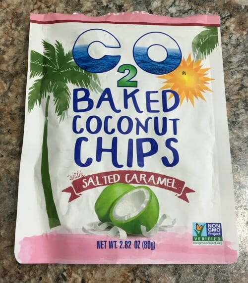 Baked Coconut Chips