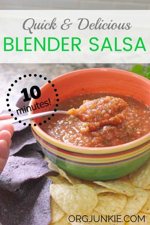 Quick Homemade Salsa recipe