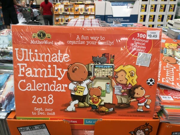 ultimate family calendar