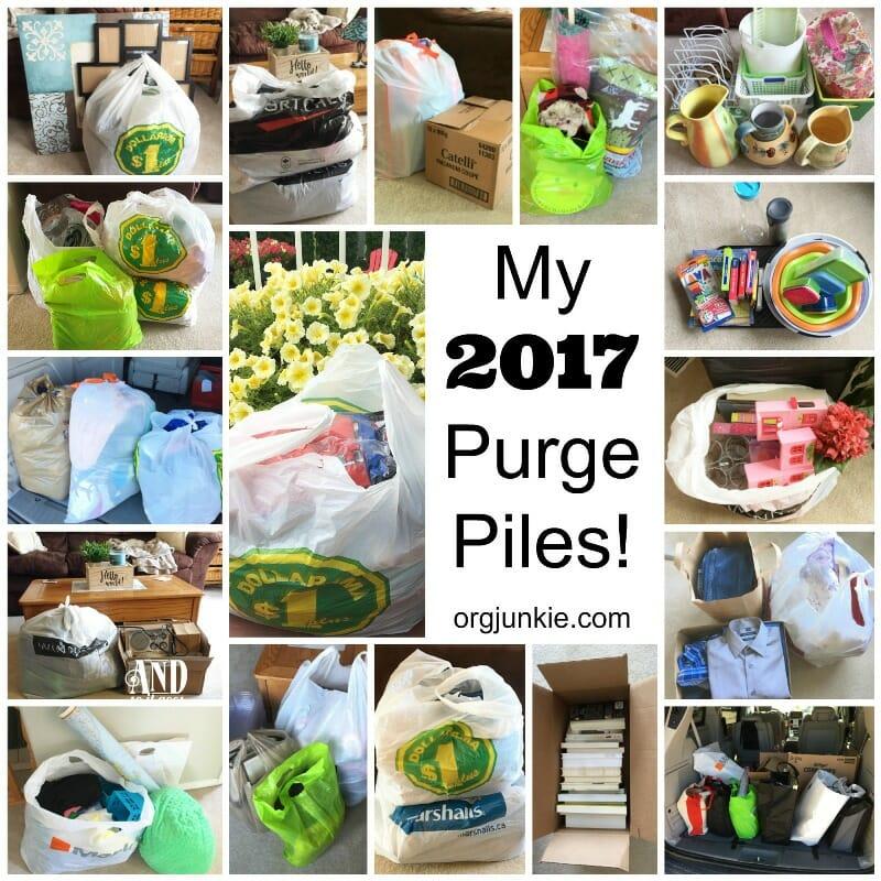 2017 purge piles