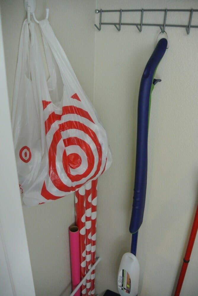 Three Tips for Organizing a Small Broom Closet at I'm an Organizing Junkie blog