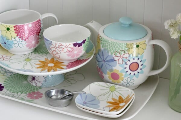 crazy daisy dishes