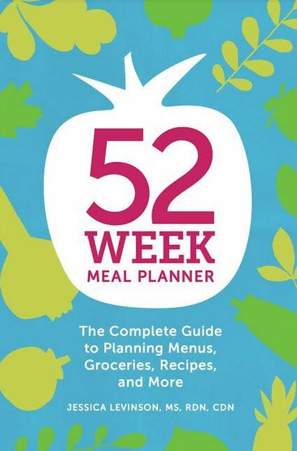 52-Week Meal Planner Book at I'm an Organizing Junkie blog