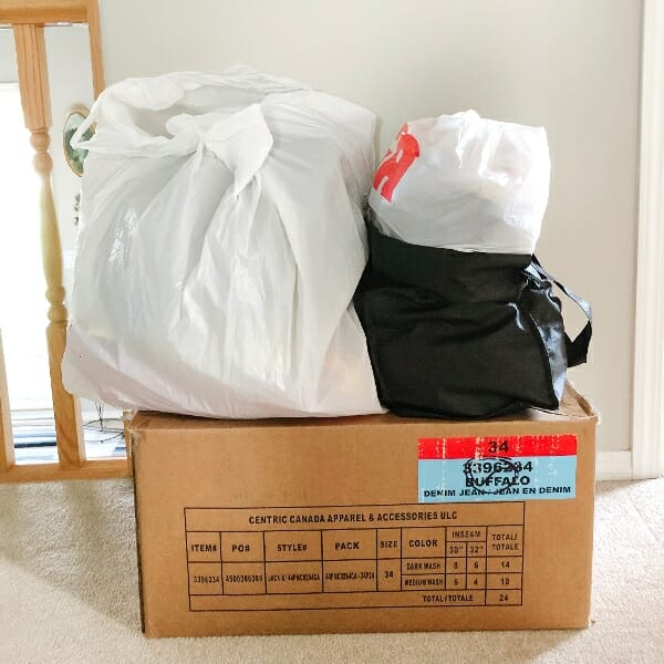 August 2019 purge pile