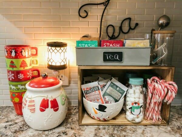 Hot Chocolate and Tea Bar