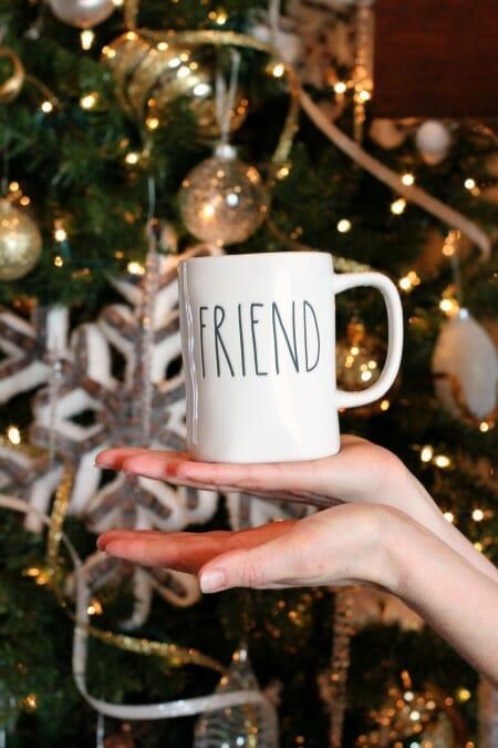It's Here! My 2019 Merry Christmas Basket of Fun Giveaway! - friend mug