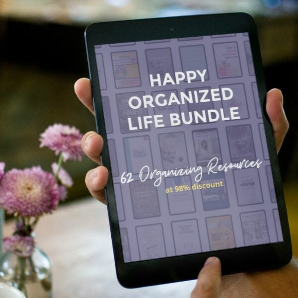 Organizing Experts Share Their Secrets for Living a Happy Organized Life at I'm an Organizing Junkie blog