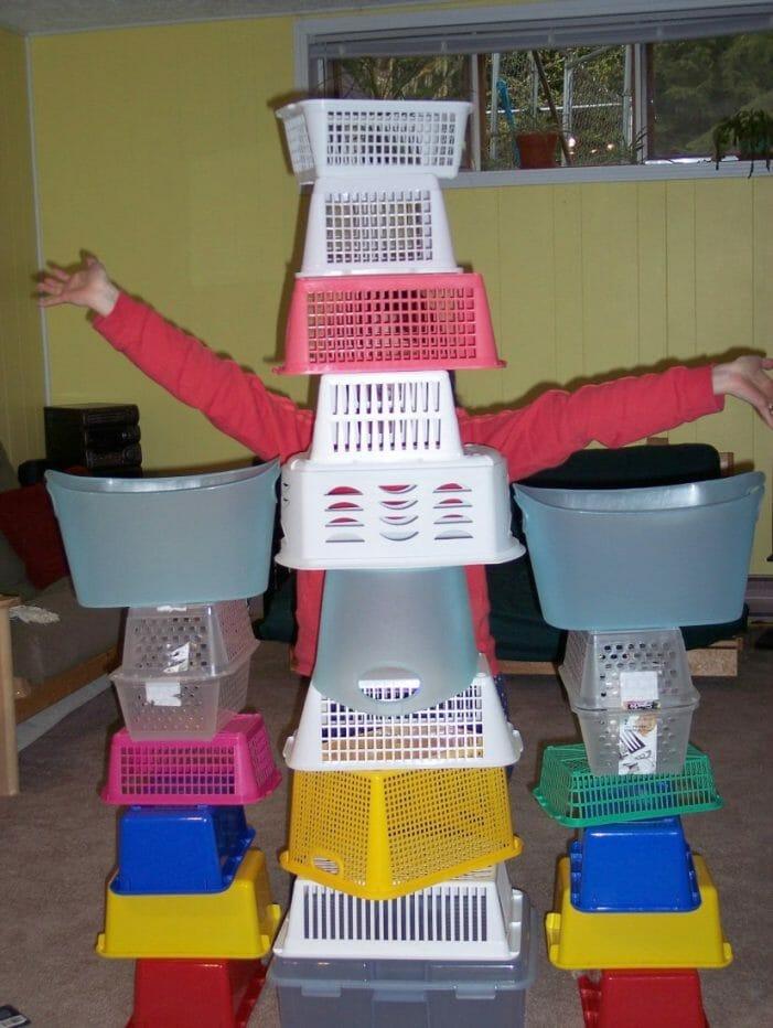 I'm an Organizing Junkie basket play