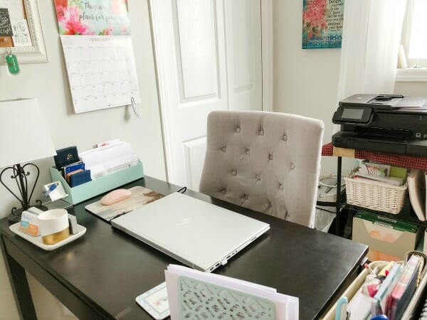 My Organized Home Office