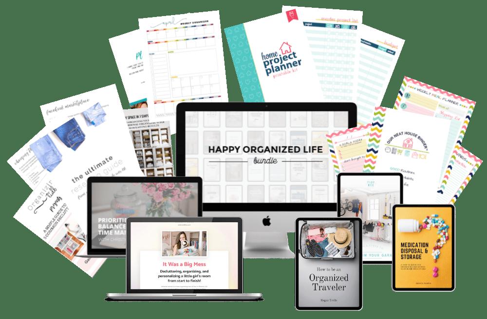 Happy Organized Life Bundle and Giveaway!
