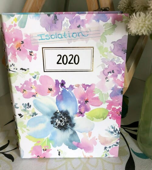 Catching Up with Org Junkie ~ How Life in Isolation is Really Going - isolation planner 2020