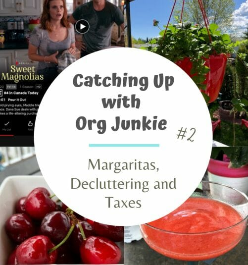 catching up with Org Junkie #2