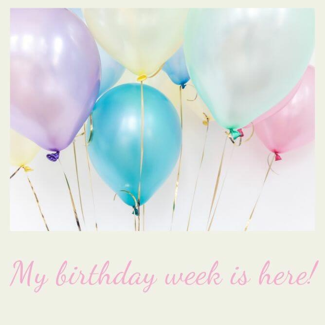 Org Junkie's birthday week!