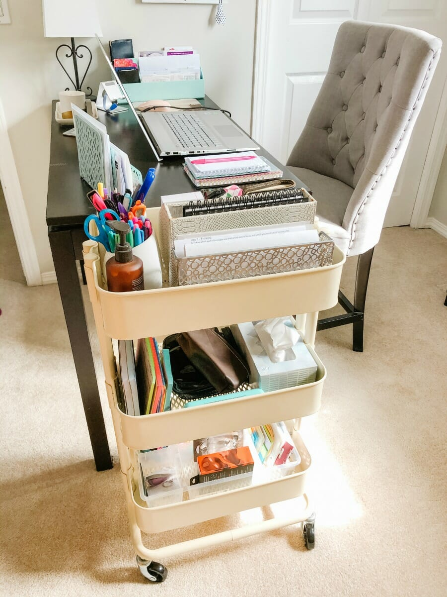 Desk Organizing Solutions When You're Short on Space
