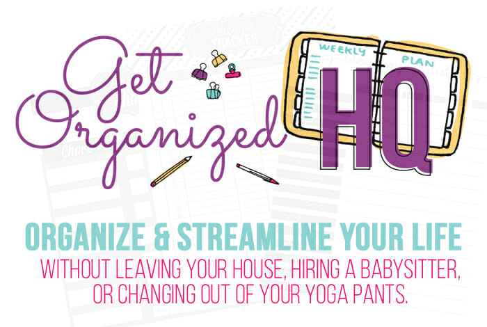 Get Organized HQ 2020 ~ FREE Organizing Workshops Not to be Missed!