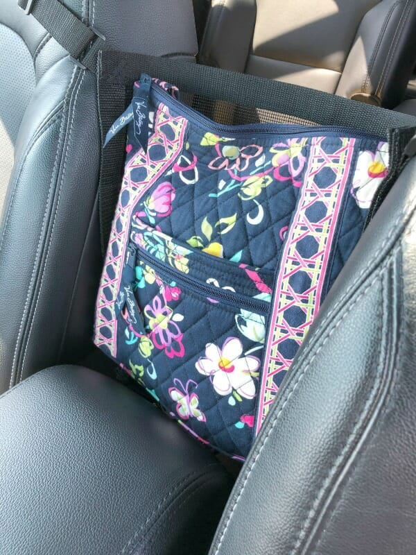 """Car Caché ~ The Car Organizer That Answers the Question """"Where Do I Put My Purse?"""""""