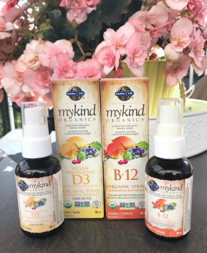 My Kind Organics Vitamin Sprays