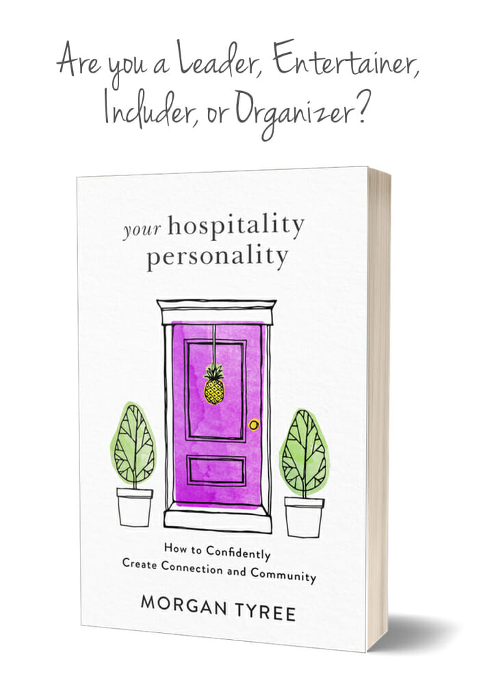 Four Hospitality Personality Types ~ Which One Are You? at I'm an Organizing Junkie blog