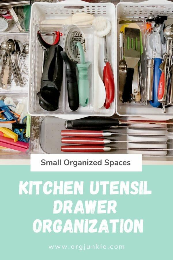 kitchen utensil drawer organization