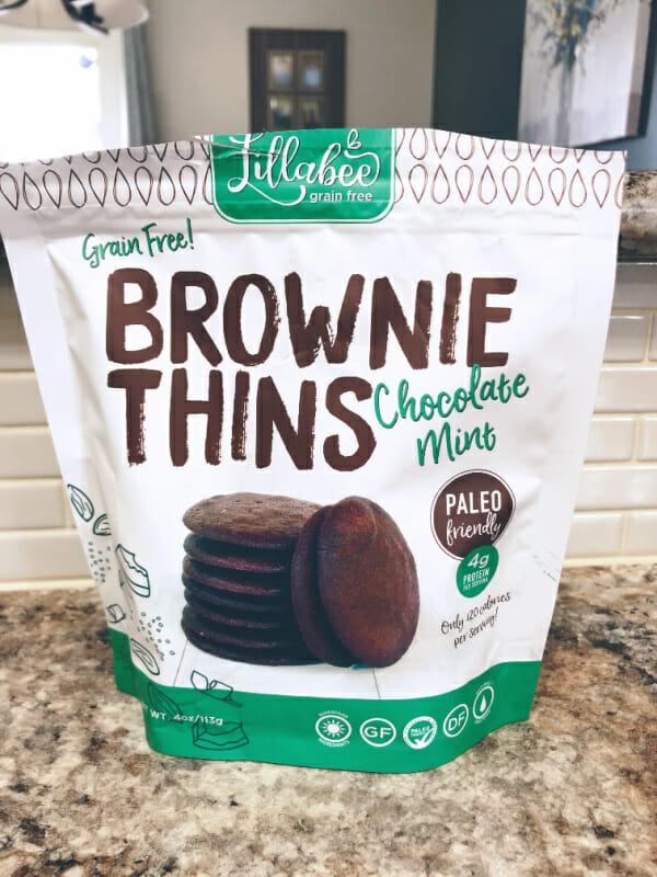 Paleo Brownie Thins