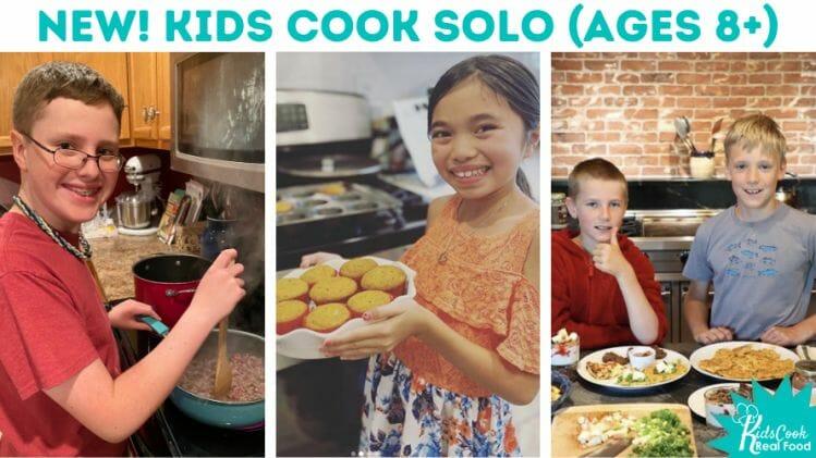 Kids Cook Solo program