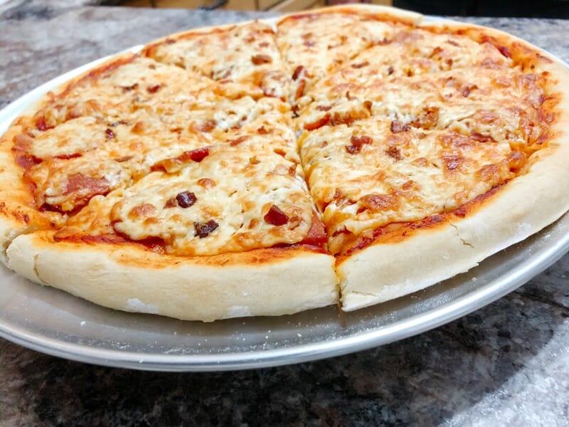 Homemade Bread Machine Pizza Dough