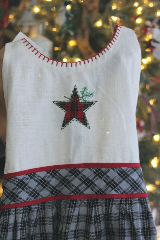 cute Christmas apron