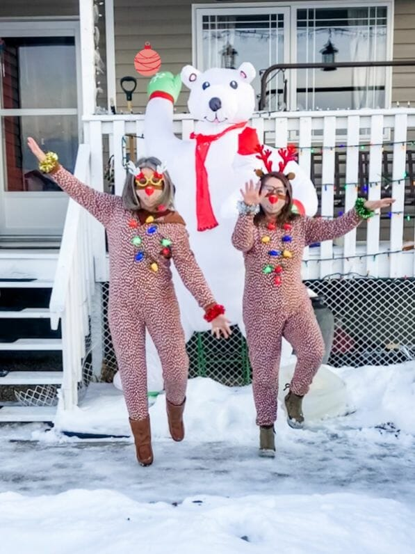 Silly Reindeer Runs to Bring Joy at Christmas