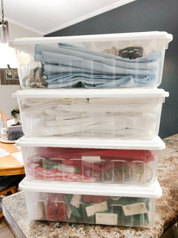 shoebox storage