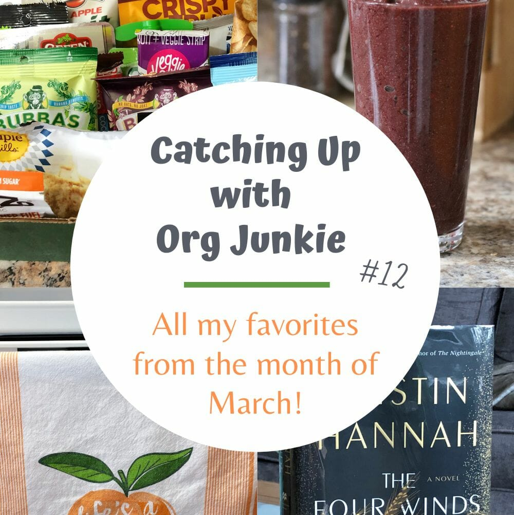 Catching Up with Org Junkie #12