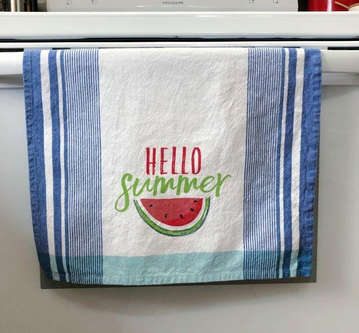 Fun summer vibes tea towels