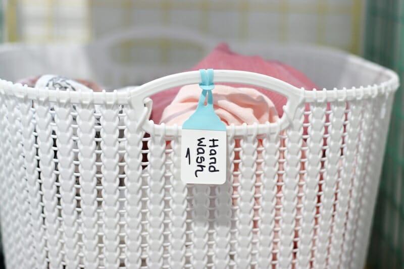 hand wash basket