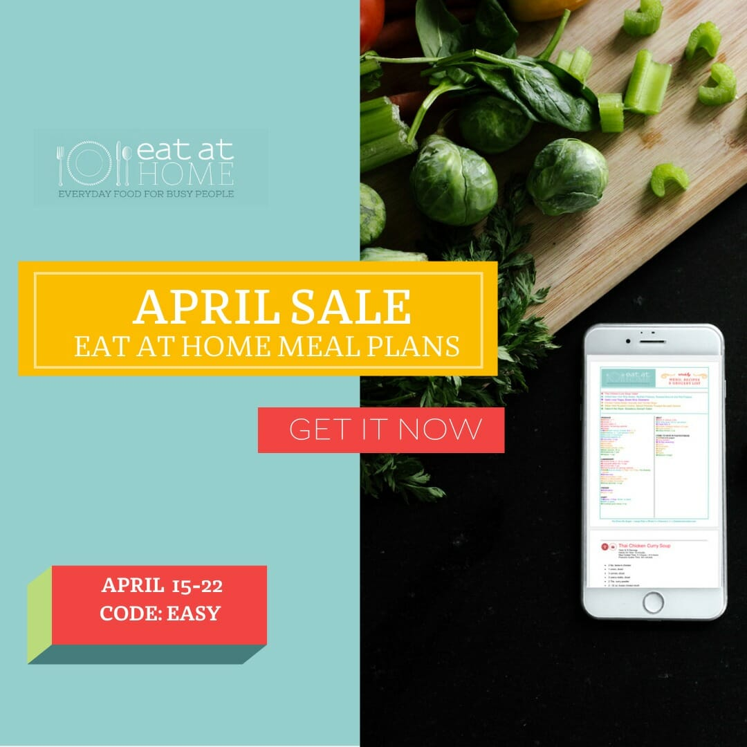 Eat at Home Meal Plans SALE