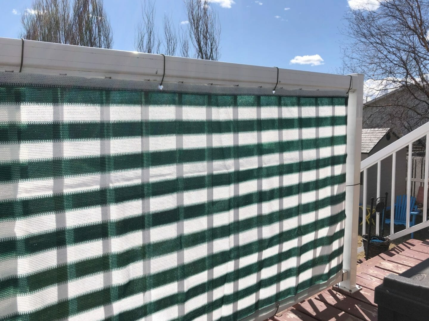 privacy deck screen