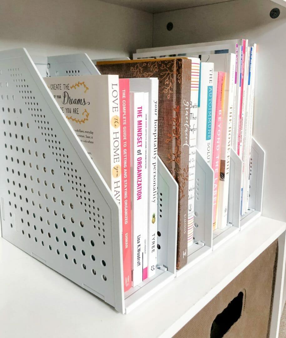 foldable magazine file rack