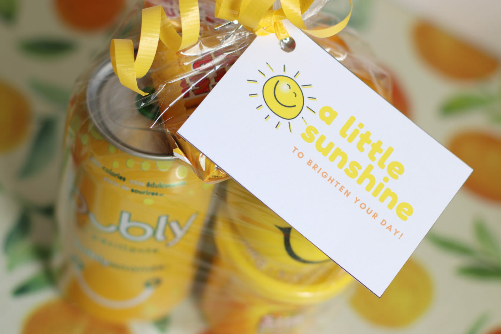 A Little Sunshine to Brighten Your Day with free printables