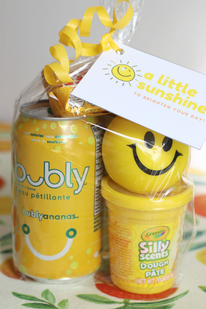 A Little Sunshine to Brighten Your Day ~ Free Printable Sunshine Gift Tags