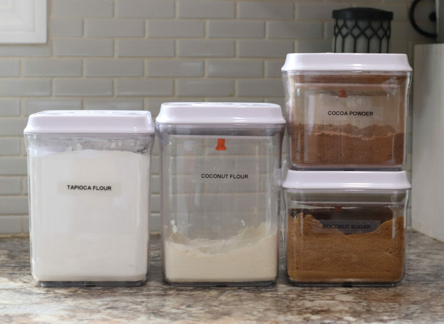 Nouvo kitchen canisters