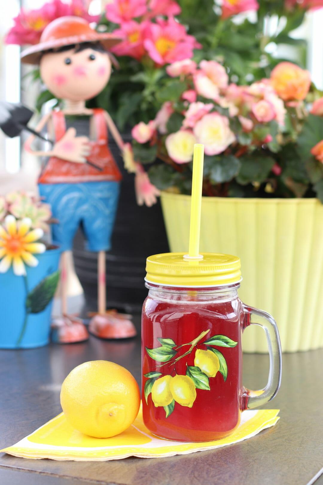 Sparkling Cherry Vanilla Lemonade