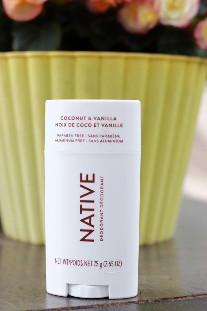 Coconut & Vanilla Native Deodorant