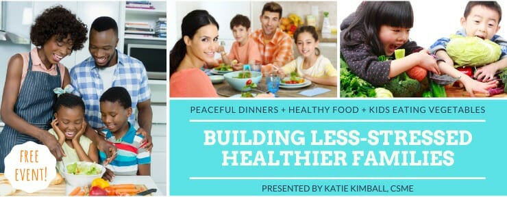 Building Less Stressed, Healthier Families free webinar