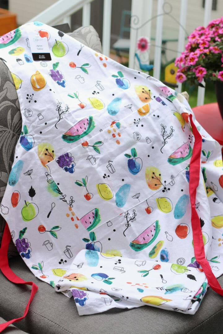 fun summer apron