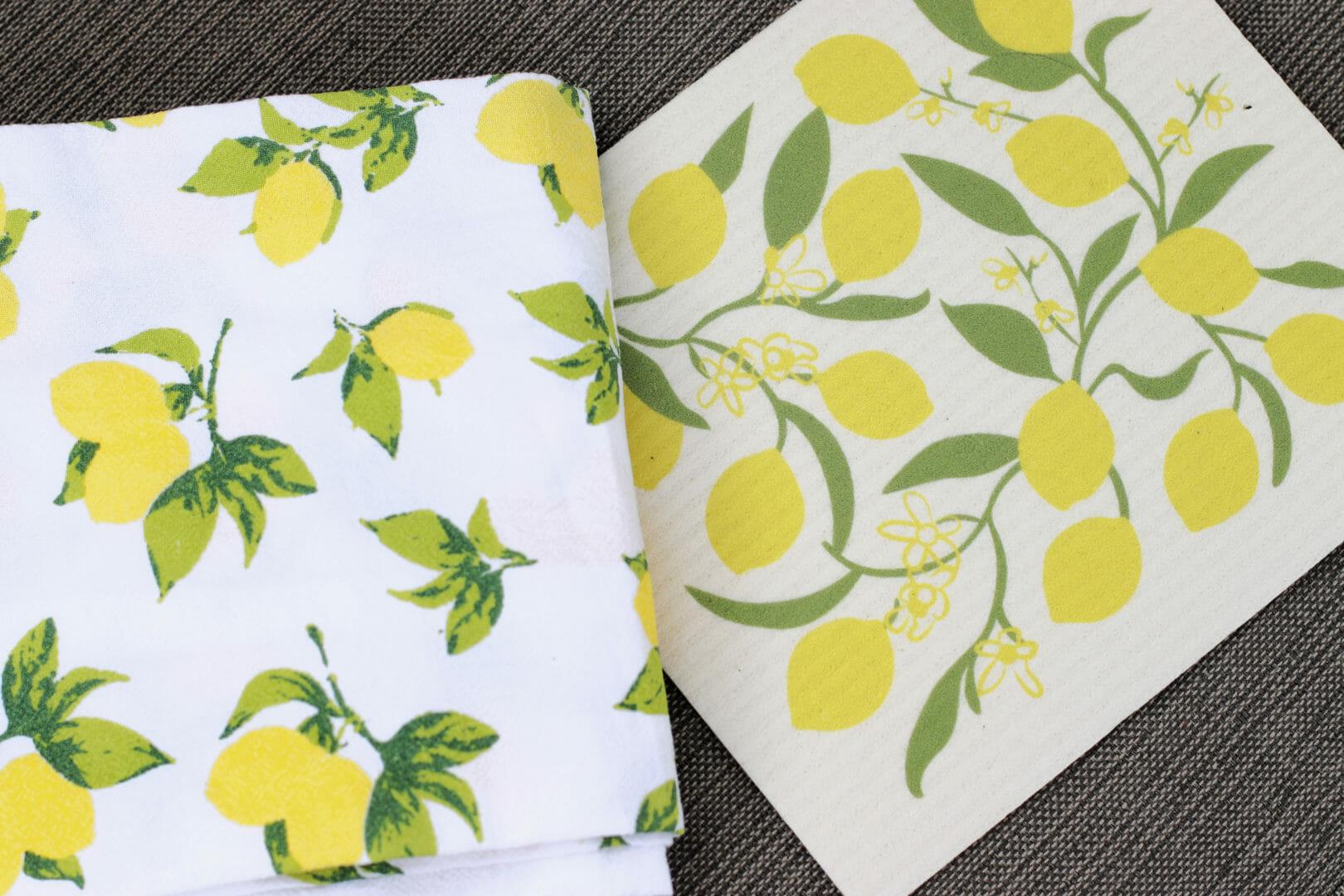 lemon towels